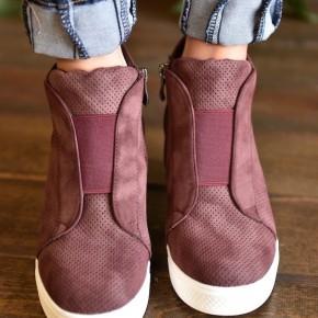 Plum Zoey Sneakers
