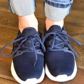Navy Dash Sneakers