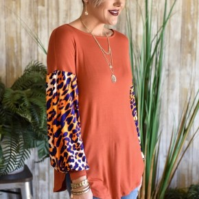 Wild & Fierce Puff Sleeve Top