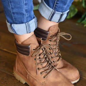 CLEARANCE Tan Whitney 25 Boots