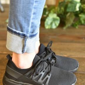 Black Dash Sneakers