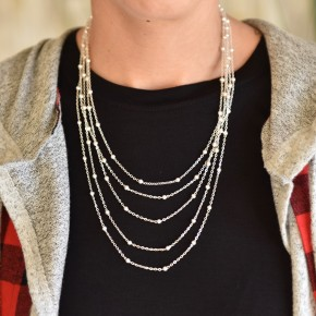 Silver Dainty Necklace