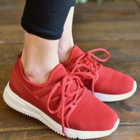 Red Dash Sneakers