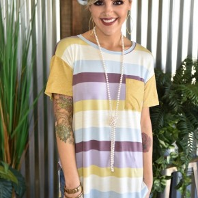 Striped Pocket Tunic