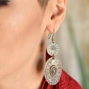Gold Bohemian Earrings