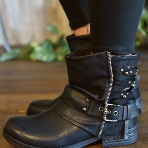 Black Per Boots