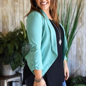 CLEARANCE (3 Colors) Stretch Blazer