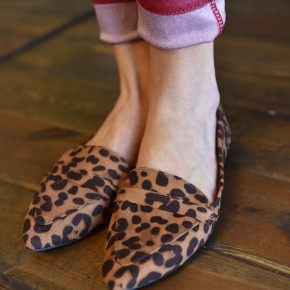 Leopard Blog Flats