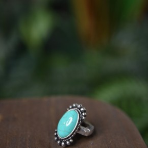 Bohemian Turquoise Stretch Ring