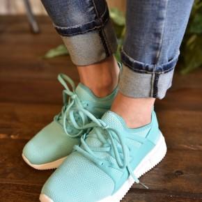 Mint Dash Sneakers
