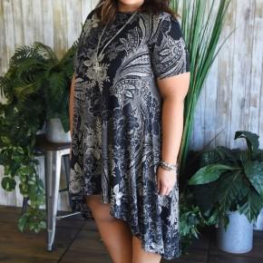 CLEARANCE Halee High Lo Dress