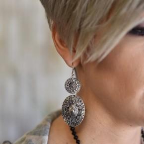 Silver Bohemian Earrings