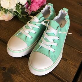 Mint Sporty Sneakers