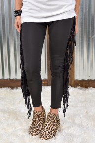 On The Fly Fringe Skinnies