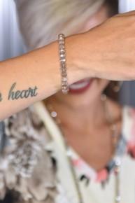 Dark Iridescent Mocha Essential Stretch Bracelet