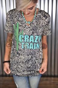 Python Crazy Train Tee