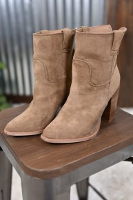 Taupe Rosie Short Boot