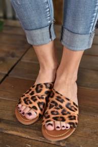 Leopard Sadie Sandals