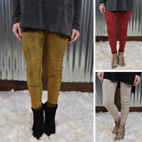 Acid Wash Hyperstretch Skinny Pants