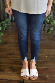 Kan Can Dark 5 Pocket Super Skinny Jeans
