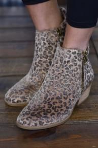 Leopard Twinkle Booties