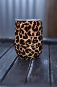 Leopard Wine Tumbler