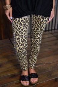 Judy Blue Leopard Skinny Jeans