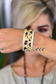 Leopard Where the Wild Things Are Bracelet