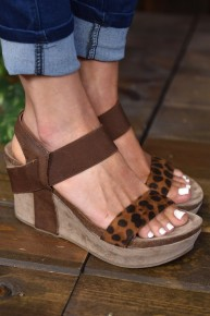 Leopard Laura 1 Wedges