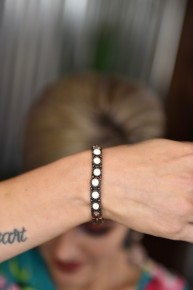 Ivory Stones Stretch Bracelet