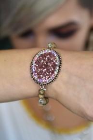 Gold Crystal Bracelet