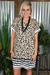 Mocha Animal Dress