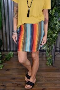 Serape Skirt