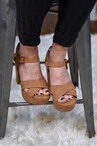 Tan Sandbar Heels