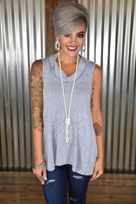 *FINAL SALE* Navy Loose Fit Tank