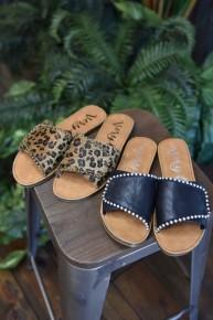 Posh Slide On Sandals