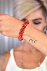 Red Rock Steady Stretch Bracelet