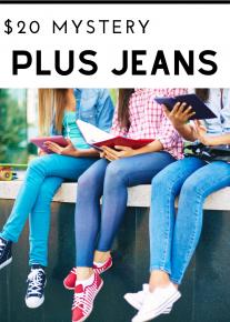 $20 Mystery Plus Jeans *Final Sale*