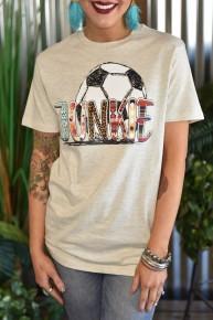 Soccer Junkie Tee