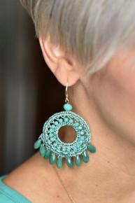 Turquoise Daydream Believer Earrings