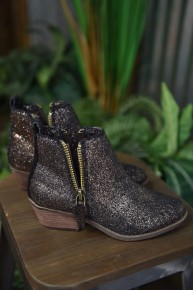 CLEARANCE Copper Twinkle Booties