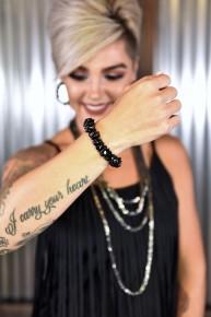 Black Rock Steady Stretch Bracelet