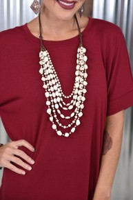 Ivory Layered Necklace