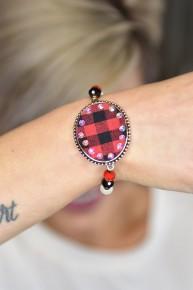 Buffalo Plaid Bracelet