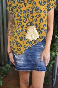 Judy Blue Released Hem Skirt
