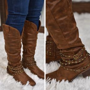 Tan Dixie Tall Boot