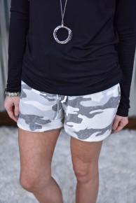 Camo Fleece Shorts