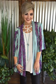 Plum Crazy Kimono