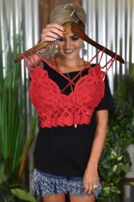Chilipepper Crochet Lace Bralette