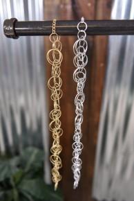 Linked Hoop Necklace